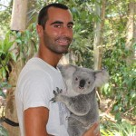 Lone Pine Koala Sanctuary : Oli & koko