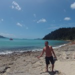 WhiteHaven Beach - Départ pour le lookout - 02