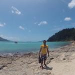 WhiteHaven Beach - Départ pour le lookout - 03