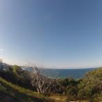 Rainbow beach : bushwalk to Carlos Sandblow 01