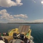 Fraser Island : on the boat – 02