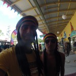 Nimbin - Oli & Rodo in rasta mood