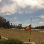 Canberra : Aboriginal's flag