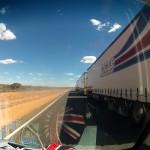 Road to Uluru : Road train