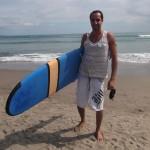 Seminyak : Amine - The surfer