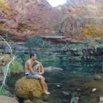 Karajini : Dales Gorge - Circular pool - 02